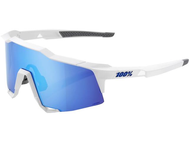 100% Speedcraft HD Multilayer/Hiper Glasses Tall matte white